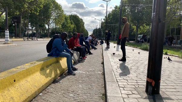 El drama de los 'sin papeles' en Francia