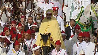 شاهد: العاهل المغربي محمد السادس يترأس حفل الولاء بتطوان