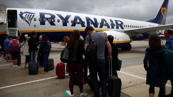 Массовое увольнение пилотов в Ryanair