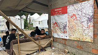 """Refugiados """"presos"""" na Bósnia-Herzegovina"""