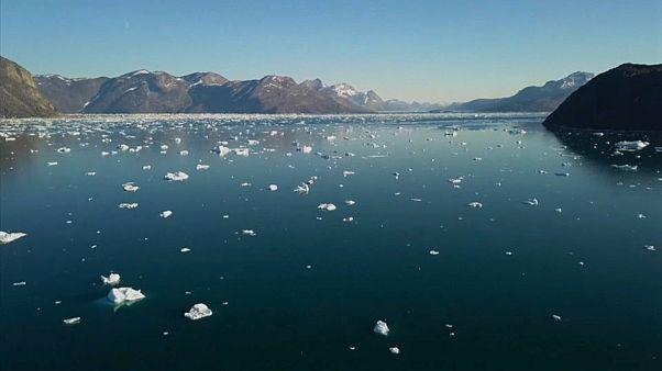Gelo derrete a níveis recorde na Gronelândia
