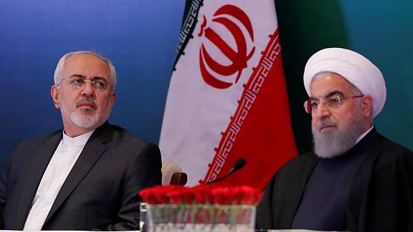 İran DIşişleri Bakanı Cevat Zarif / Cumhurbaşkanı Hasan Ruhani