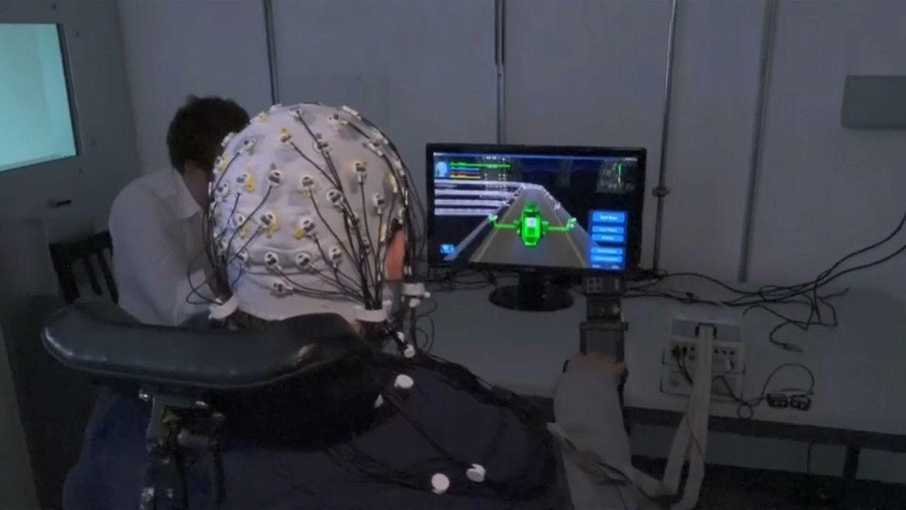 Videojuegos manejados por la mente