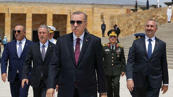 Ασύμμετρες απειλές στην ανατολική Μεσόγειο βλέπει ο Ερντογάν
