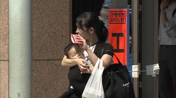 شاهد: اليابان تسجل ارتفاعاً في درجات الحرارة