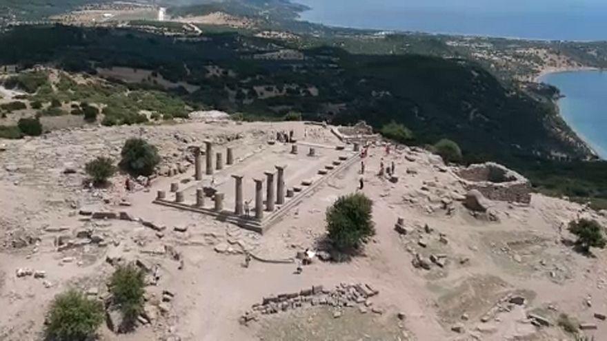 Εντατικές ανασκαφές στην αρχαία Άσσο