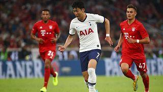 Le Sud-Coréen Son Heung-min, lors de la rencontre Totenham - Bayern Munich, le 31 juillet 2019