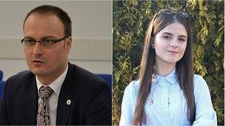 Alexandru Cumpanaşu and his kidnapped niece, Alexandra Măceşanu, presumed dead.