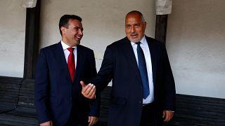 Συνάντηση Ζάεφ-Μπορίσοφ στα Σκόπια