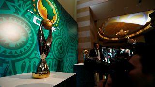 كأس بطولة دوري أبطال أفريقيا في القاهرة بمصر