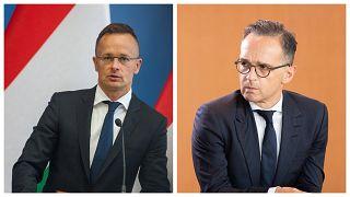 Diplomatikus választ adott az elmaradt Szijjártó-Maas találkozóra a német külügy