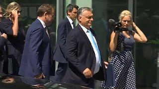 Орбан в Брюсселе