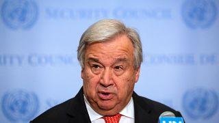 BM Genel Sekreteri'nden Cumhurbaşkanı Akıncı'ya 'gerginlikleri azaltma' konusunda destek mektubu