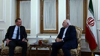 دیدار دیپلمات فرانسوی با وزیر امور خارجه ایران