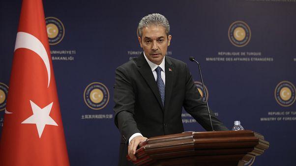 O εκπρόσωπος του τουρκικού ΥΠΕΞ Χαμί Ακσόι