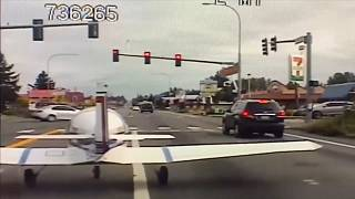 Közúton landolt egy kisrepülőgép az Egyesült Államokban