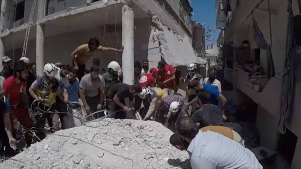 Ariha, Idlib province, 28 July 2019. Courtesy Syrian Civil Defence Idlib