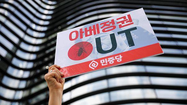 بالا گرفتن تنش تجاری میان کره جنوبی و ژاپن