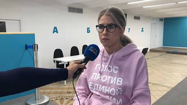 Ativista russa entra em greve de fome