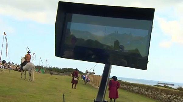 """شاهد: استخدام تقنية الفيديو """"فار"""" في رياضة من العصور الوسطى!"""