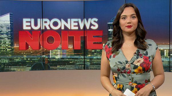 Euronews Noite   As notícias do Mundo de 2 de Agosto de 2019