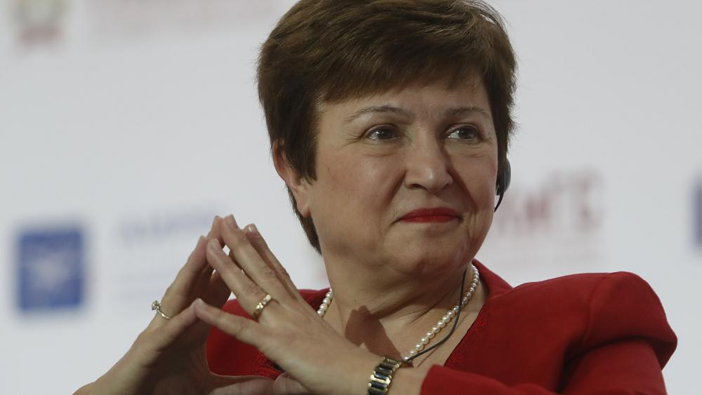 <b>Bulgarian Kristalina Georgieva picked as EU candidate for IMF head</b>