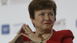 Bulgarian Kristalina Georgieva picked as EU candidate for IMF head
