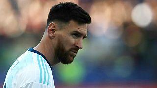 لیونل مسی کاپیتان تیم ملی فوتیال آرژانتین