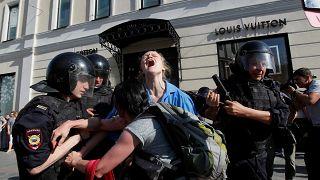 Московская полиция требует от оппозиции 18 млн рублей