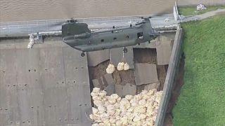 Emergencia para evitar la rotura de la presa de Todbrook
