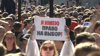 Mosca, oltre 600 arresti alle proteste antigovernative