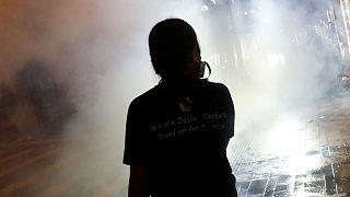 En Hong Kong ocupan un túnel y bloquean el tráfico