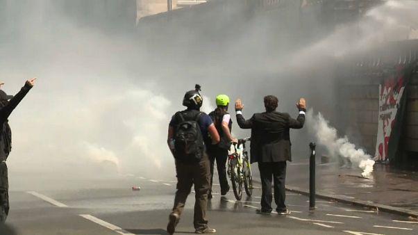 Manifestações por Steve Caniço degeneram em violência