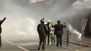 Violentas manifestaciones en Nantes por la muerte de Steve Canico