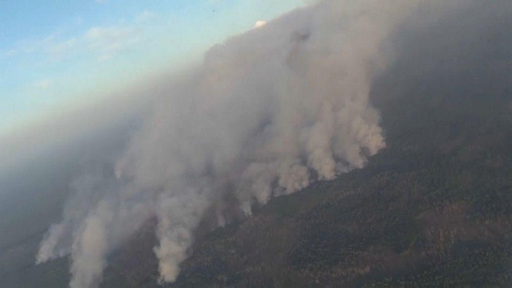 Siberia in fiamme, il fumo ha raggiunto il Nord America