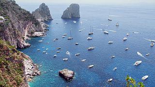 Die Faraglioni Bucht von Capri