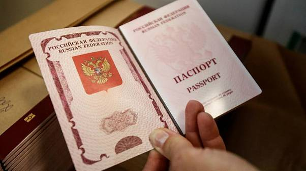 پاسپوزت روسی (عکس تزئینی است)