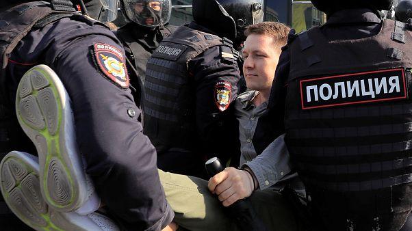 Rusya'da muhalefet gözaltılara rağmen eylemlere ülke genelinde devam edecek