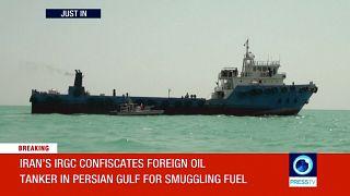 L'Iran saisit un troisième pétrolier étranger