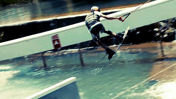 Desafio à gravidade no Tomar Pro Wakeboard