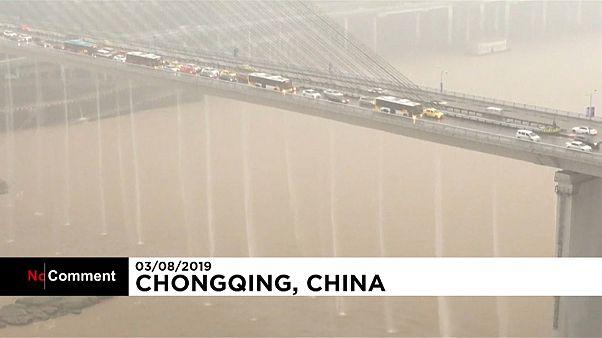 Regenfälle fluten Südwesten Chinas
