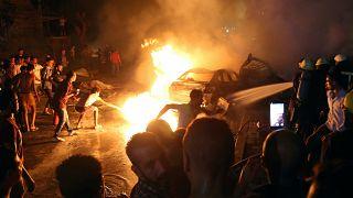Halálos robbanás Kairóban