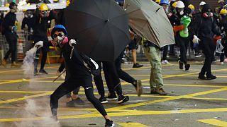 اعتراض و درگیری در هنگکنگ