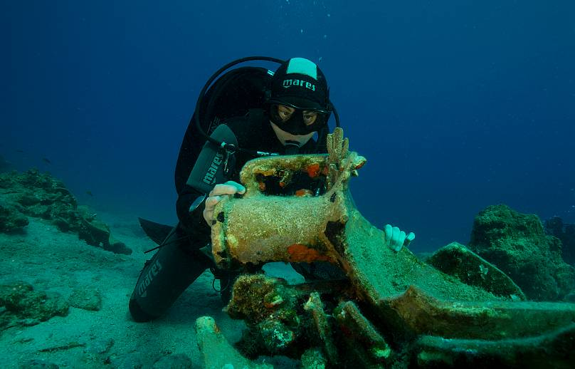 ©Ephorate of Underwater Antiquities - Hellenic Ministry of Culture and Sports / photography Anastasis Agathos