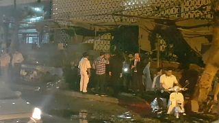 Explosão frente a hospital no Cairo