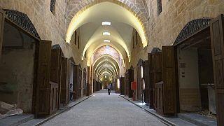 Felújítják Aleppó történelmi piacát
