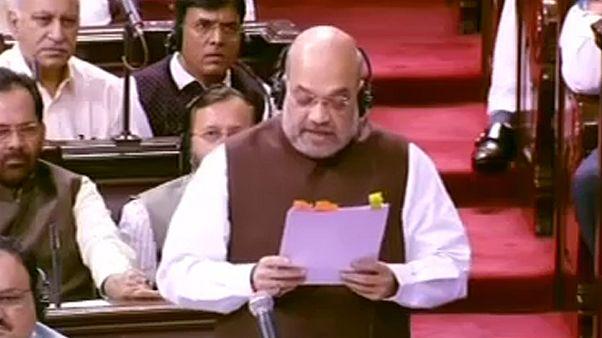 Índia revoga estatuto especial de Caxemira
