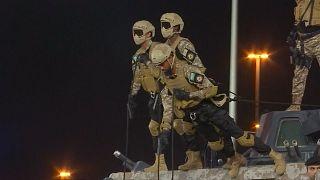 Показательные выступления спецназа в Мекке