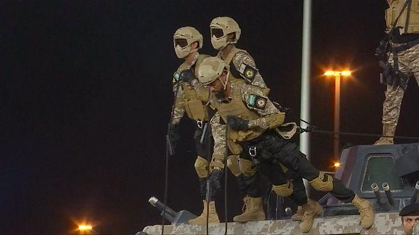 Imponente desfile militar en La Meca en los días previos al Hach