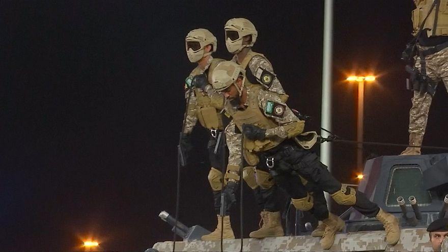 تمرین نظامی نیروهای امنیتی عربستان در آستانه مناسک حج